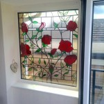 Encapsulated Stained Glass Double Glazed Unit