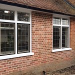 lead windows black detail