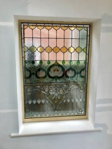 Triple Glazing (Encapsulation) Of Leaded And Stained Glass