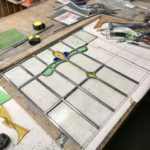 stained-glass-front-door-in-the-making
